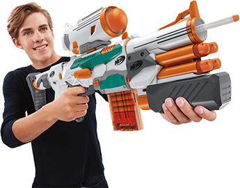 Nerf Doomlands Double Dealer Dart Blaster Gun