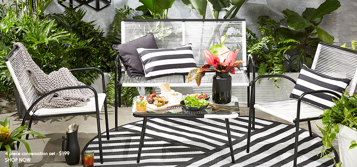 Http Www Kmart Com Au Ideas Outdoor Furniture Fit For Any Space