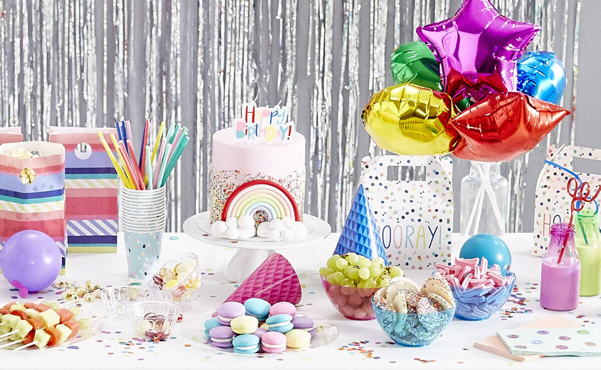 Planning a party? From balloons and lights to servingware, we've got all your party needs sorted at our one-stop shop. Create a party from our range of party themes or design your own.