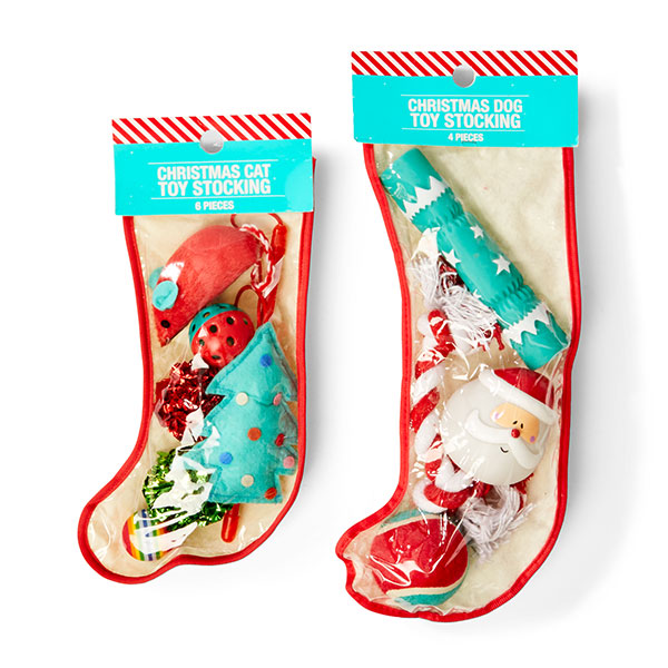 Christmas cat or dog toy stockings  sc 1 st  Kmart & christmas-gifts-for-pets - Kmart