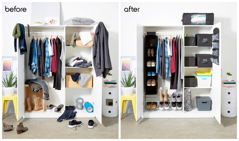 4 steps to the ultimate wardrobe make-over!