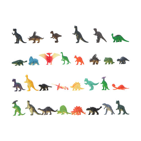 Small Figures Initiative Dinosaur Toy Figure Bundle With Sounds And Lights
