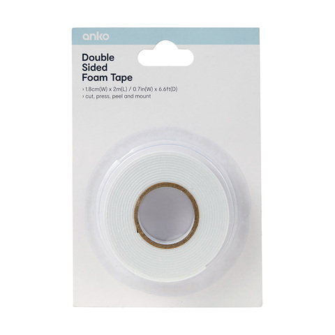 Creativ Double Sided Tape Roll - 2m x 18mm