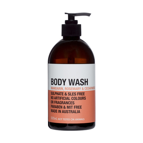 Refreshing Body Wash - 500ml, Mandarin, Rosemary & Cedarwood