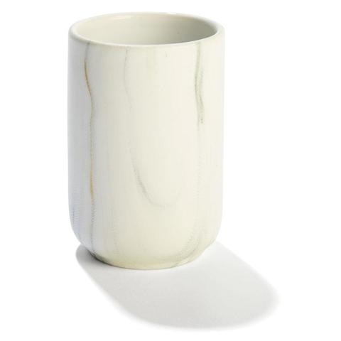 Marble effect bathroom tumbler kmart for Bathroom tumbler