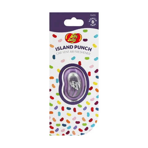 Jelly Belly Car Vent Air Freshener - Island Punch
