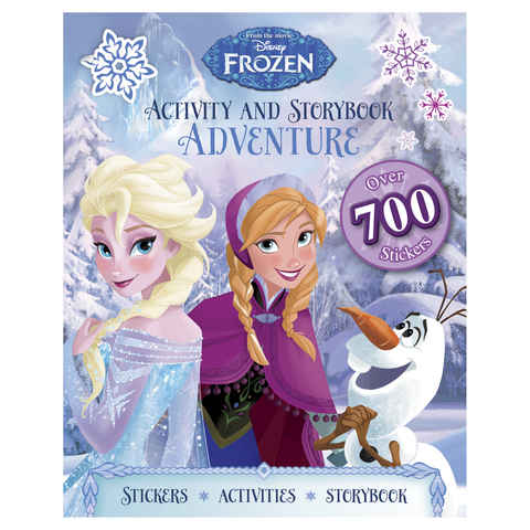 Disney Frozen Activity and Storybook Adventure - Book