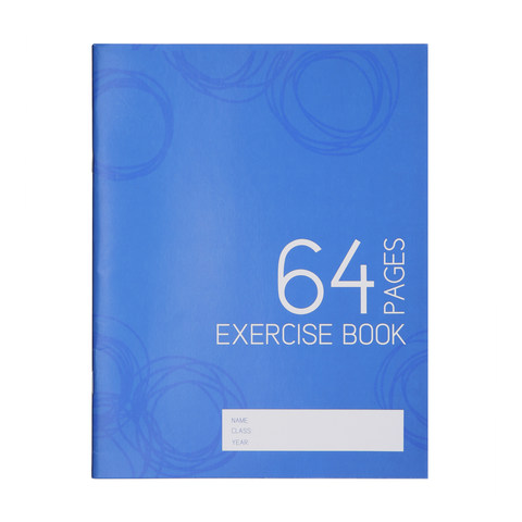 Exercise Book - 64 Pages
