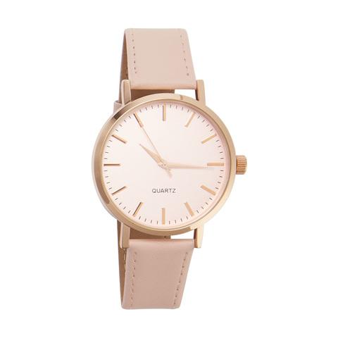 ab904504443 Large Dial Watch - Pink Rose