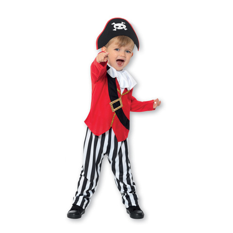 Pirate Costume - Ages 2-3