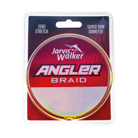 Jarvis Walker Angler Braid Line 150yd - 30lb