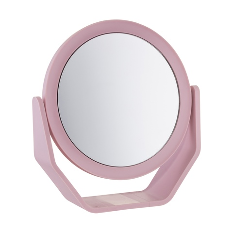 Light Pink Mirror On Stand