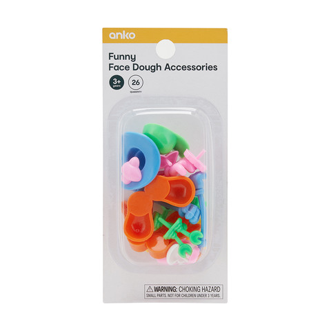 9136deaf692f9 26 Pack Funny Face Accessories | Kmart