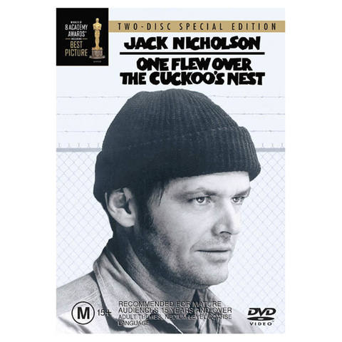 One Flew Over The Cuckoo's Nest - DVD