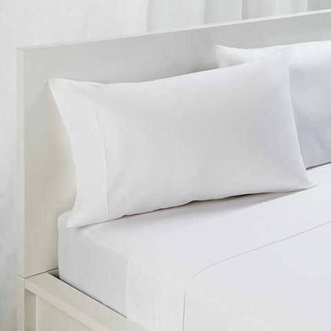 queen bed flat sheet white kmart. Black Bedroom Furniture Sets. Home Design Ideas