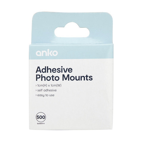 Adhesive Photo Mounts - Pack of 500