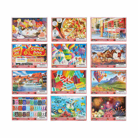 500 Piece Puzzle - Assorted
