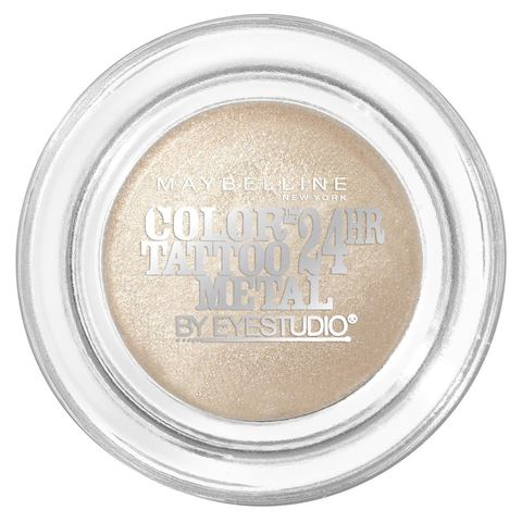 Maybelline Colour Tattoo Metal Eyeshadow - Barely Branded