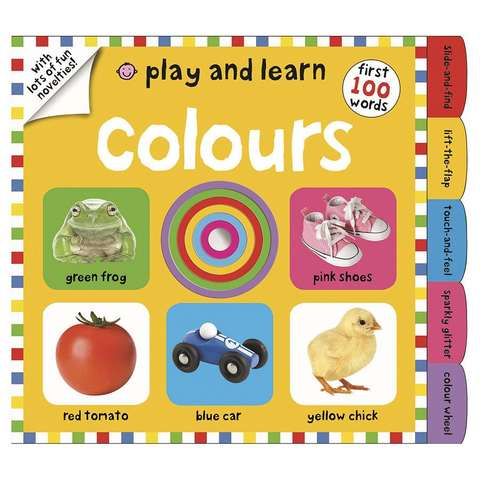 Play And Learn: Colours - Book