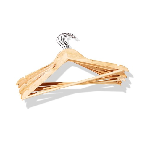 Wood Hangers - Pack of 6