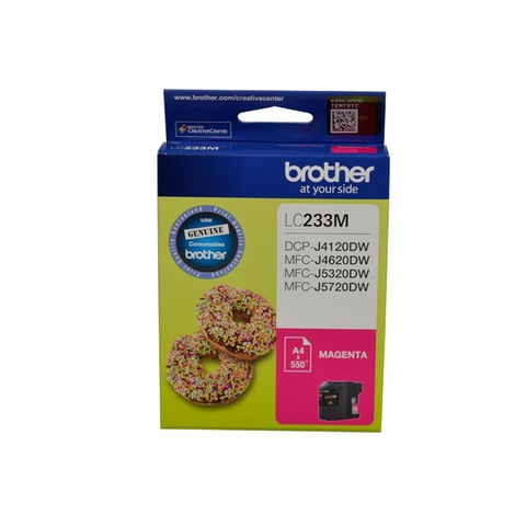 Brother LC-233 Ink Cartridge - Magenta