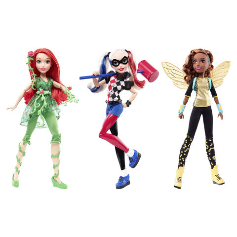 DC Superhero Girl Action Dolls - 12 inch Assorted