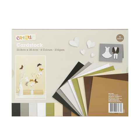40 Sheets Cardstock