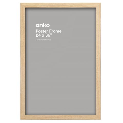 Large Poster Frame - 61cm x 91.5cm, Wood | Kmart