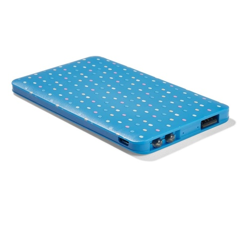 Slim Portable Charger - Quirky Dots