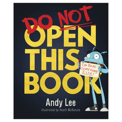 Do Not Open This Book by Andy Lee - Book | Kmart