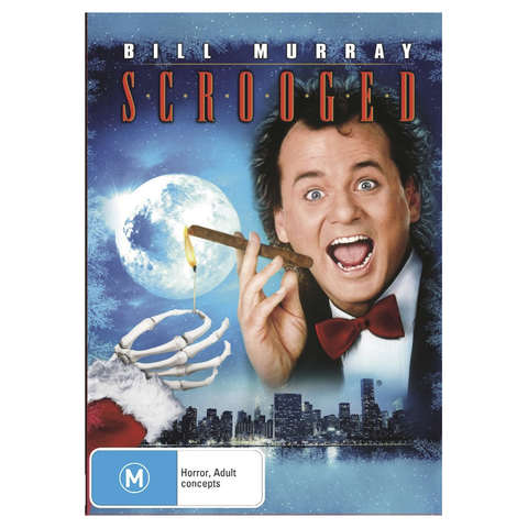 Scrooged - DVD