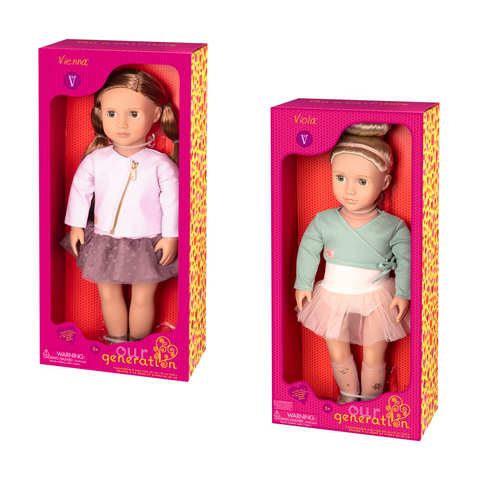 Our Generation Valencia Or Vienna Doll Assorted Kmart
