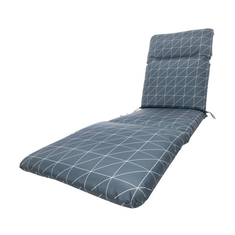 Amazing Sunlounger Cushion Charcoal Part 2