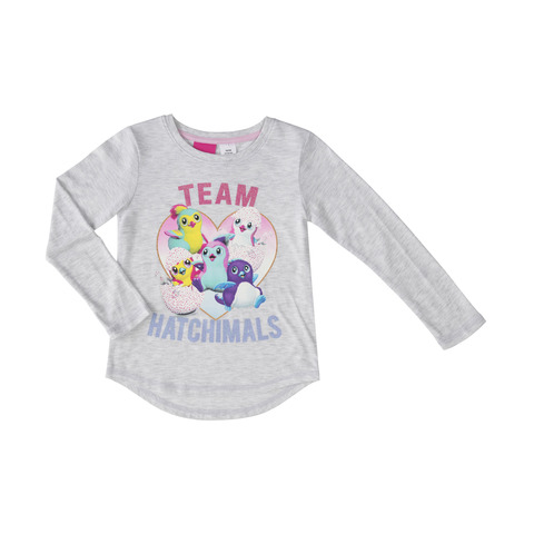 Long Sleeve Hatchimals Tee