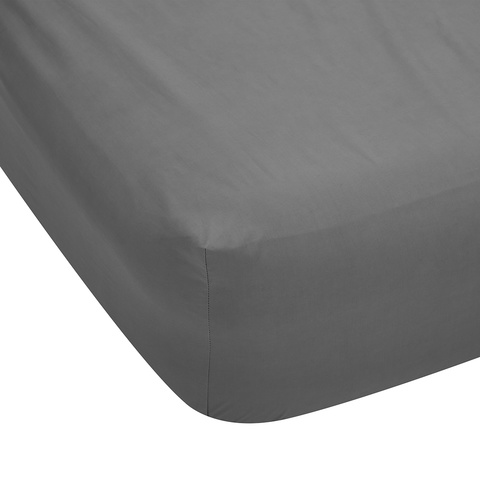 225 thread count Fitted Sheet - Single Bed, Grey