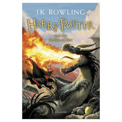 Harry Potter and the Goblet of Fire by J.K. Rowling - Book
