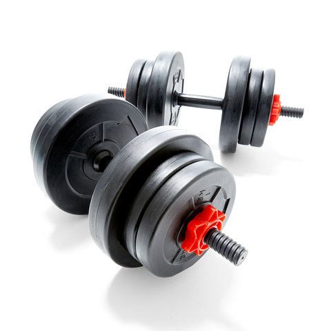 Plastic Weight Set - 20kg
