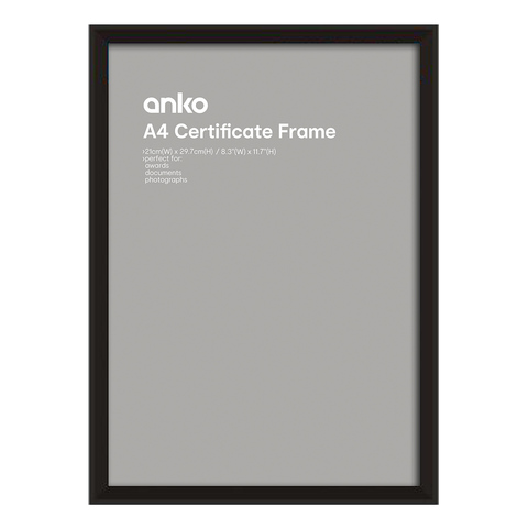 Norway Certificate Frame - A4