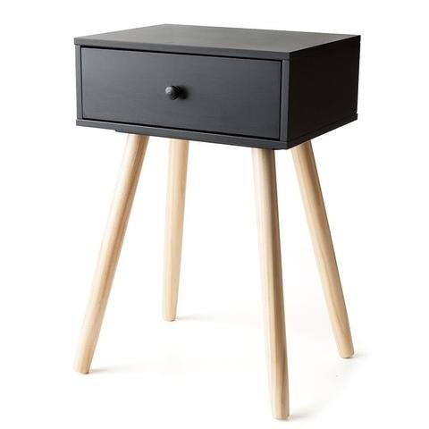 Bedside Tables Kmart Tone Side Drawer - Black | Kmart