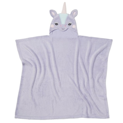 Hooded Cuddle Blanket - Unicorn