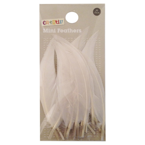Mini Feathers - Pack of 20