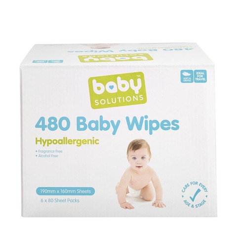 480 Baby Wipes