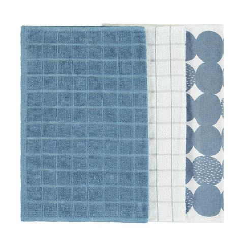 3 Dots Cotton Tea Towels