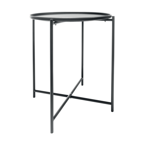 Awesome Metal Tray Table Home Remodeling Inspirations Cosmcuboardxyz
