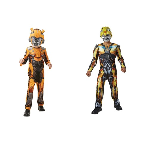 Transformers Bumblebee Classic Costume - Ages 6-8