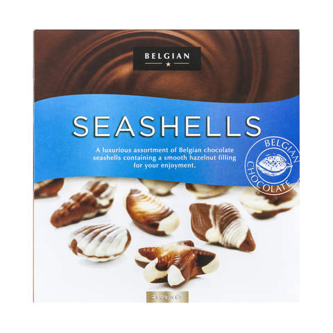 250g Belgian Seashells Chocolates