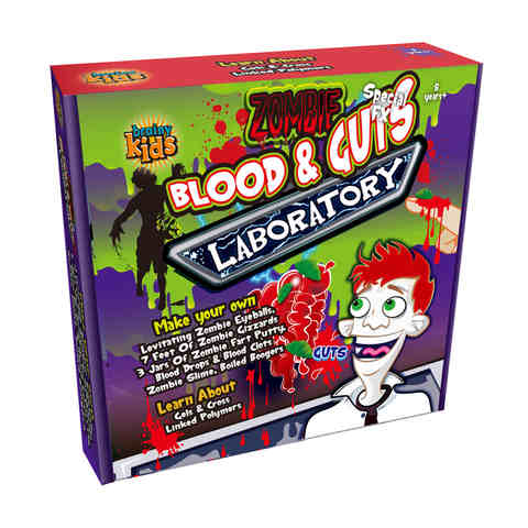 Zombie Blood & Guts Laboratory