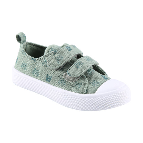 Junior Canvas Shoes with Adjustable