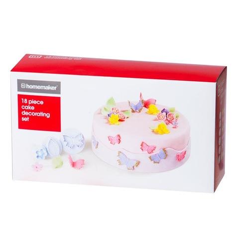 Cake Decorating Kit Murah : 18-Piece Cake Decorating Set Kmart