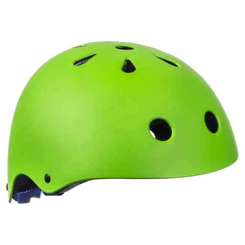 Sticker Skate Helmet - Green, Small